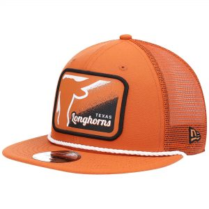 Texas Longhorns New Era Billboard 9FIFTY Snapback Hat - Texas Orange