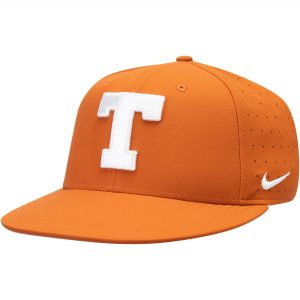 Texas Longhorns Nike Aerobill Performance True Fitted Hat - Orange