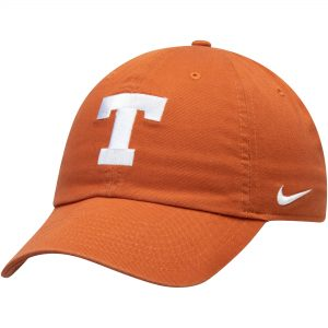 Texas Longhorns Nike Heritage 86 Logo Performance Adjustable Hat - Texas Orange