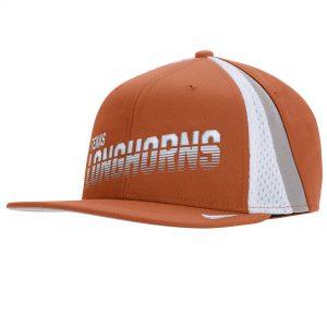 Texas Longhorns Nike Sideline Pro Adjustable Snapback Hat - Texas Orange