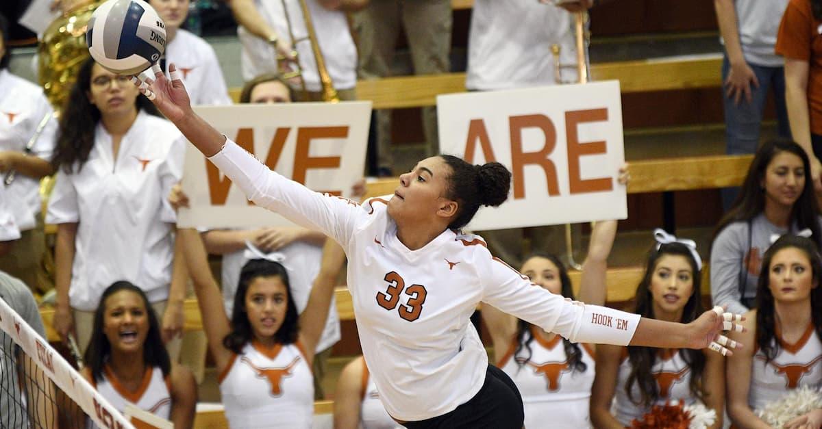Logan Eggleston Texas Volleyball