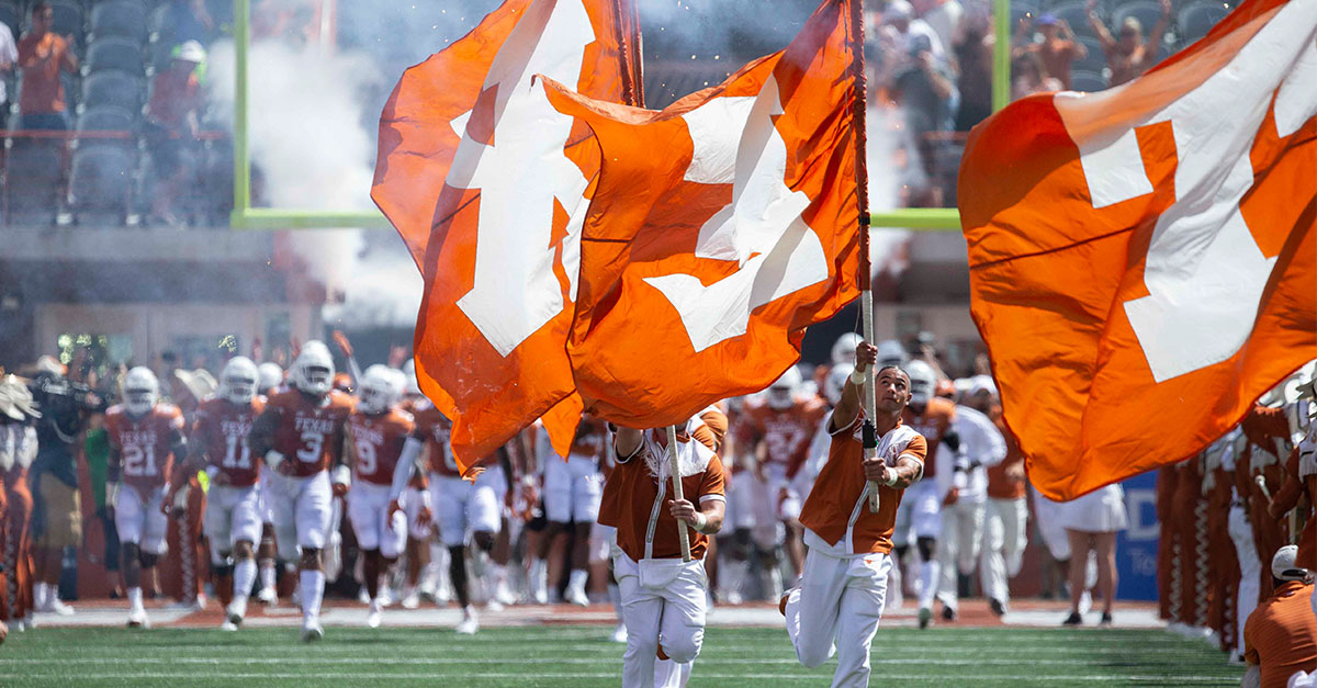 Texas takes field against Louisiana