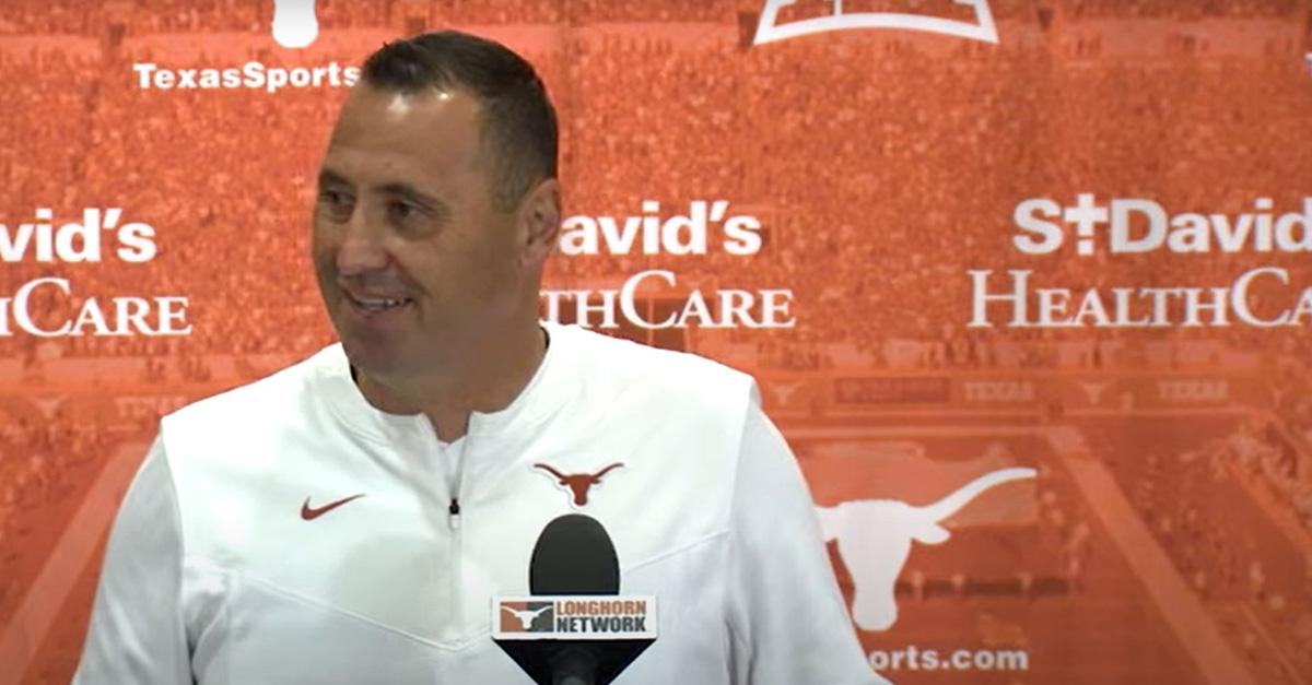 Coach Steve Sarkisian At Press Conference